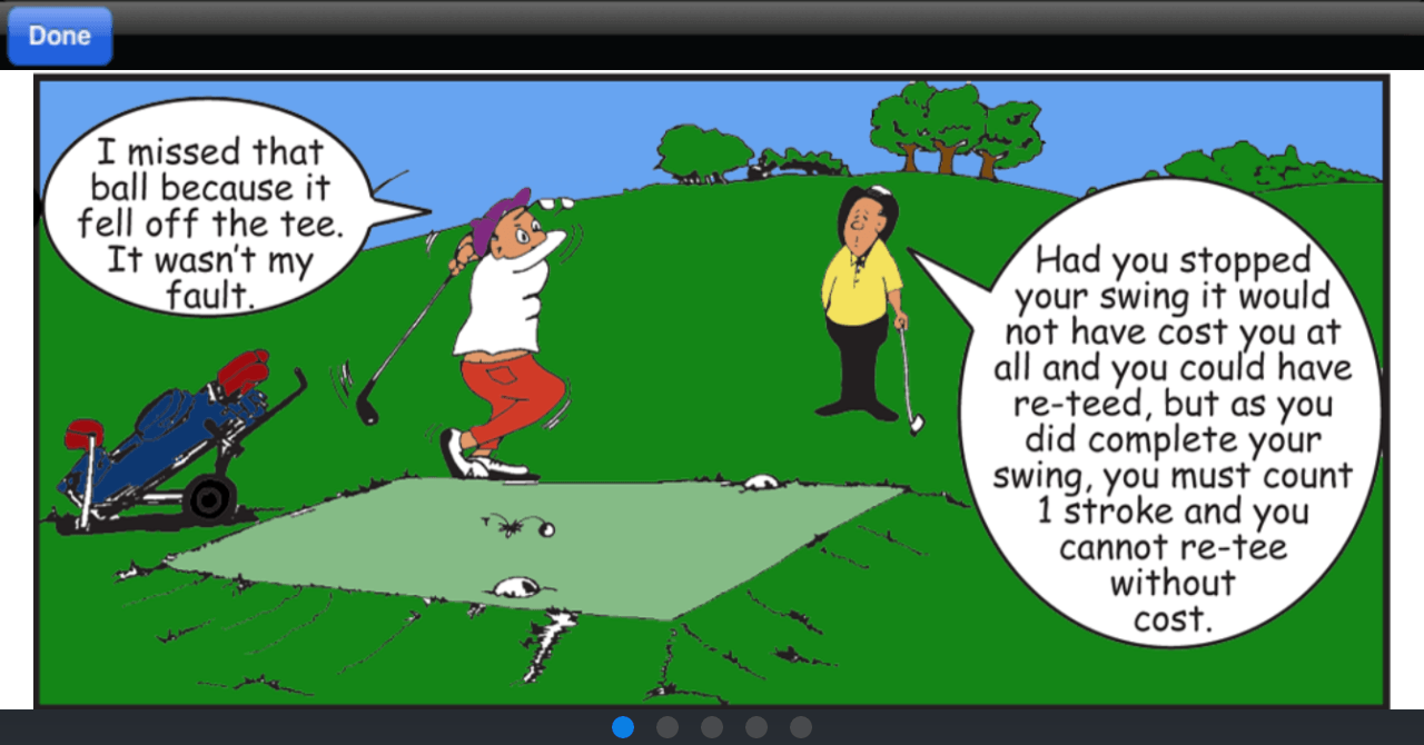 what are the rules for the card game golf