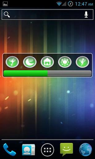 Screen Brightness Widget