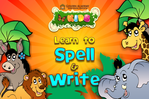 Learn to Spell Write:Animals