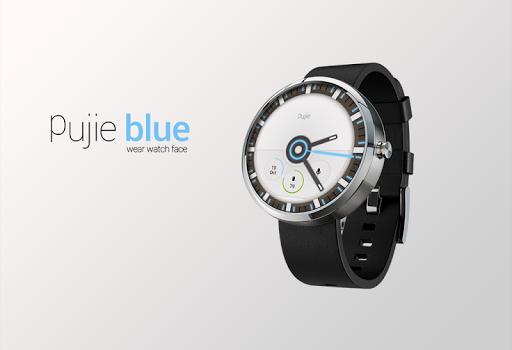 Pujie Blue - Wear Watch Face