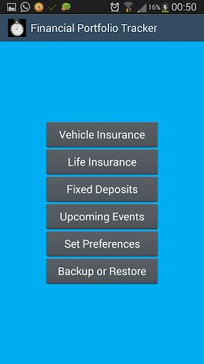 Financial Portfolio Tracker