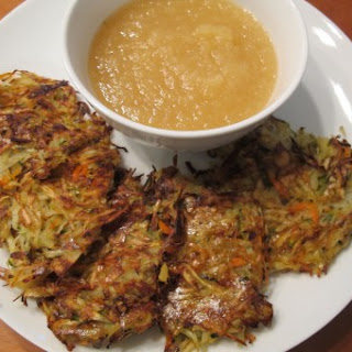 Baked Root Vegetable Pancakes