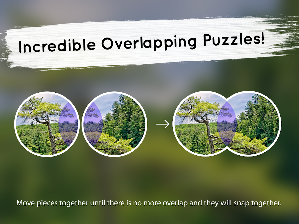 Venn Trees: Circle Jigsaw- screenshot