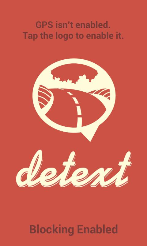 detext - Safe Driving App - screenshot