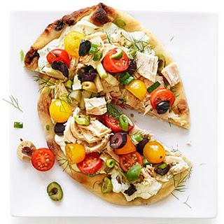 Niçoise Pizzas