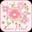 Love Petal GO Getjar Theme icon