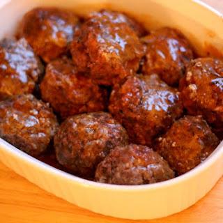 Jamaican Beef Balls