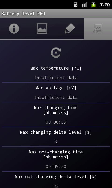 Battery level PRO- screenshot