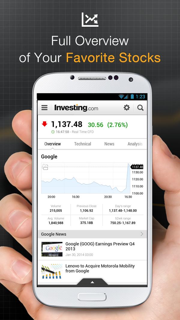 Stocks, Forex, Bitcoin, Ethereum: Portfolio & News Screenshot 6