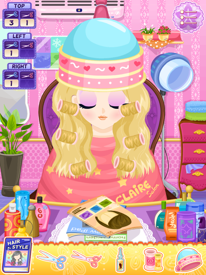 Claire Salon- screenshot