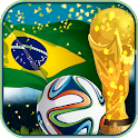 Football World Cup Brazil 2014 icon