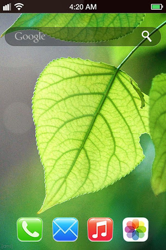 綠眼動態壁紙 I