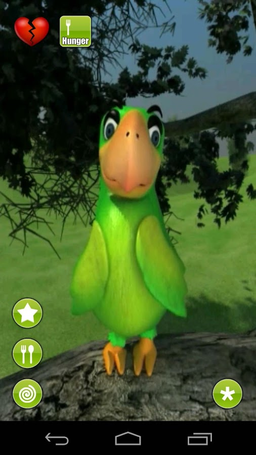 Talking Parrot- screenshot