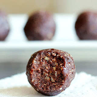 German Chocolate Fudge Bites.