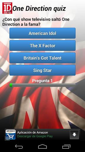 One Direction Quiz en español
