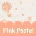 Pink Pastel Atom theme icon