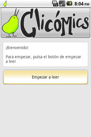 Clicómics- screenshot