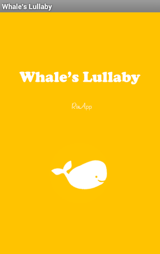 Whale's Lullaby Demo