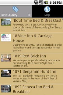 Finger Lakes Wine Country - screenshot thumbnail