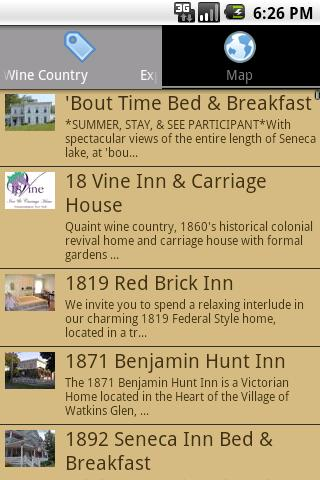 Finger Lakes Wine Country- screenshot