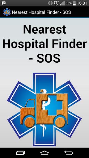 Nearest Hospital Finder - SOS