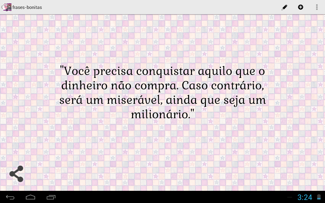Beautiful Quotes (Portuguese) - screenshot