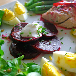 Pickled Beet Nicoise.