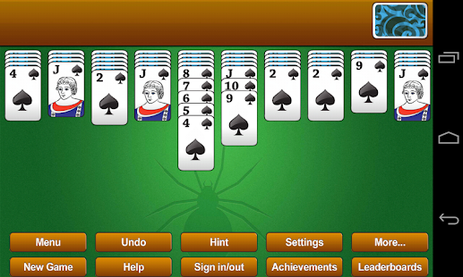 Classic Spider Solitaire - screenshot thumbnail