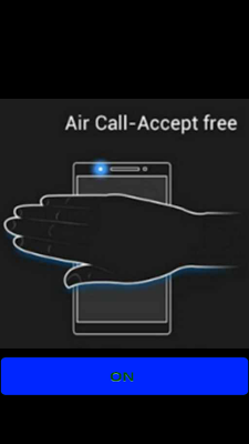 Air & Shake Call Answer - screenshot