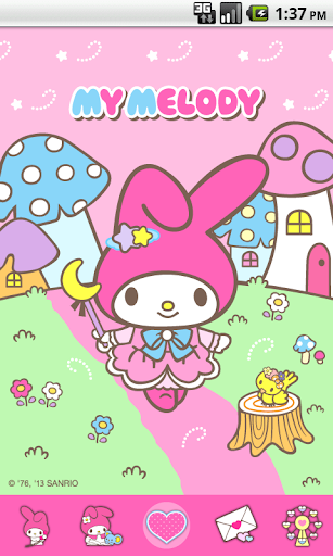 My Melody Mushrooms Theme