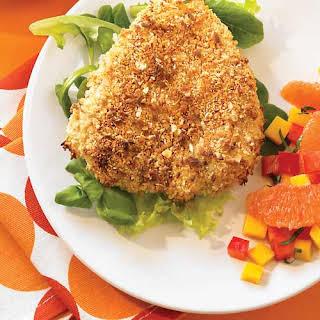 Spicy Thai Chicken with Mango-Citrus Salsa.