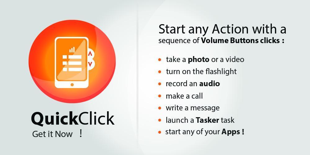 QuickClick - screenshot