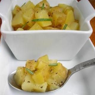 Boozy 'Taters or Marsala Wine Potatoes Side