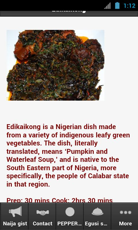 Naija Soup- screenshot