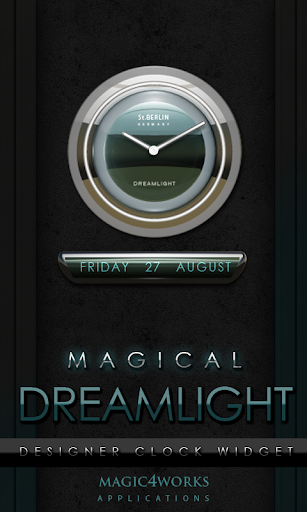 Dreamlight Clock Widget