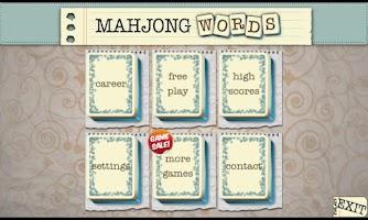 Screenshot of Mahjong Words Unlocked
