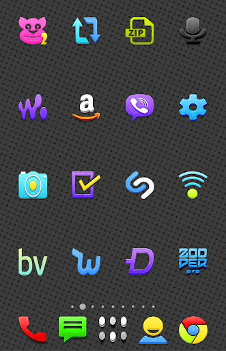 3D Crystal - icon pack