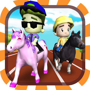 Horse Racing 3D (Kids Edition) for PC and MAC