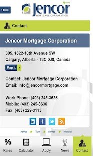 Jencor Mortgage App - screenshot thumbnail