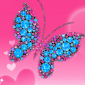 Butterfly With Diamonds Live logo