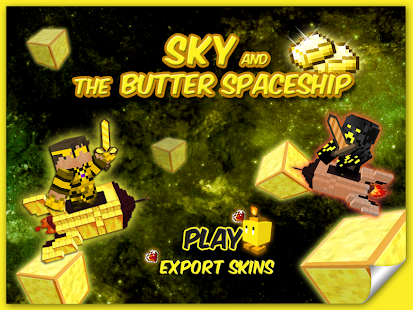 Sky The Butter Spaceship