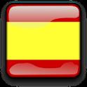 Spain Flag Clock Widget icon