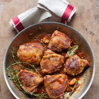 Chicken In Red Wine Vinegar Sauce