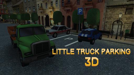 小貨車停車3D