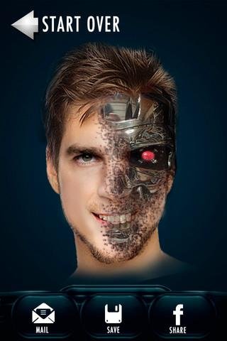 【免費攝影App】Cyborg Booth Photo Morph Cam-APP點子