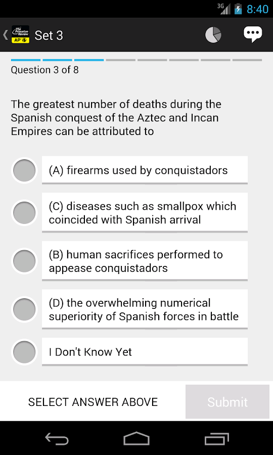AP World History Exam Prep - screenshot