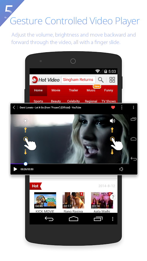 UC Browser HD - screenshot