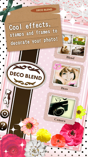 DecoBlend-拼贴免费照片处理,字符插入图像和过滤器
