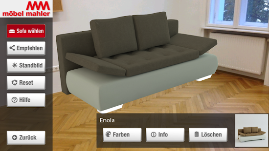 Mahler Sofas Augmented Reality - Android Apps on Google Play