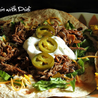 Best Mexican Style Shredded Beef (Slow Cooker).